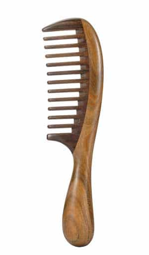 Wide Tooth Comb Wooden