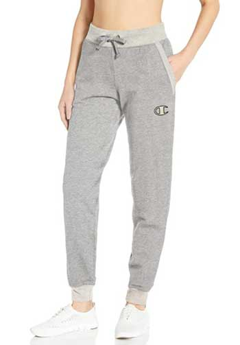 grey champion sweatpants women's