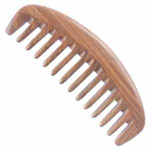 wide tooth comb for curly hair