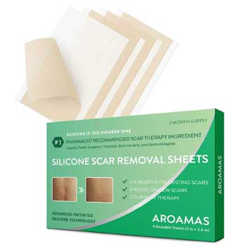 Aroamas Silicone Scar Removal Sheets