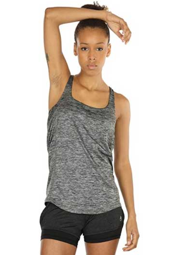 Workout Tank Tops With Built in Bra