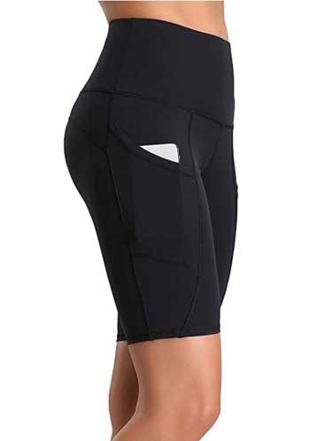 workout shorts for thick thighs