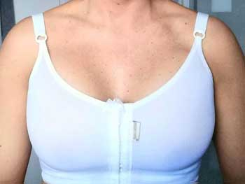 After Breast Augmentation Bra