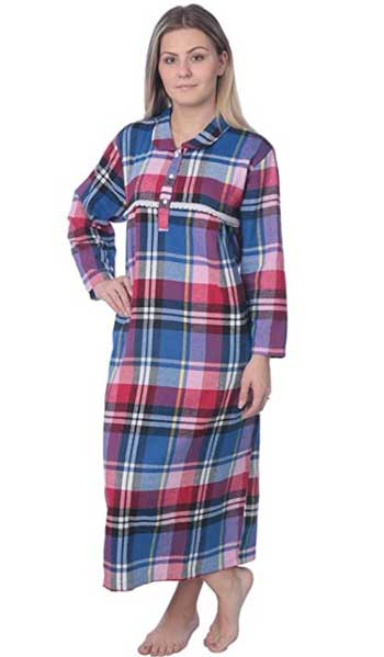 Extra Long Flannel Nightgown