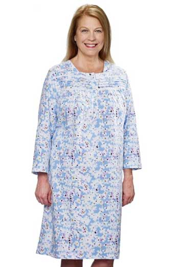 Flannel Nightgowns For Elderly