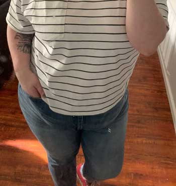 Jeans for Big Belly and Skinny Legs
