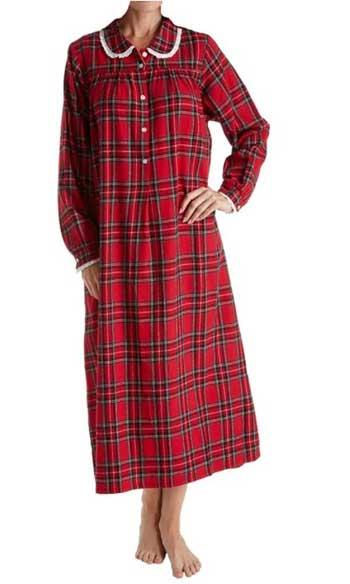 Lanz of Salzburg Flannel Nightgown