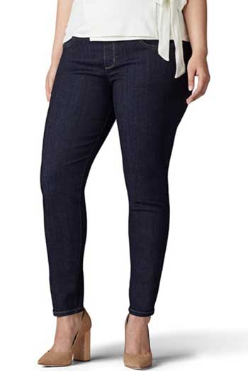 Plus Size Jeans for Skinny Legs