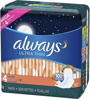 always panty liners