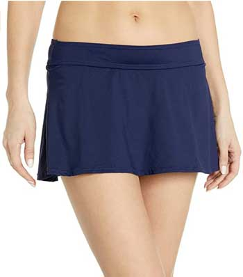anne cole swim skirt