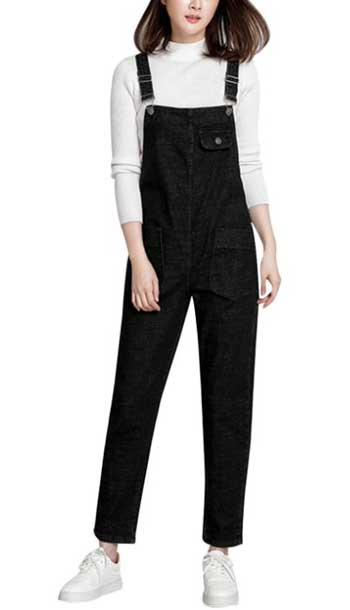 denim jumpsuit for women