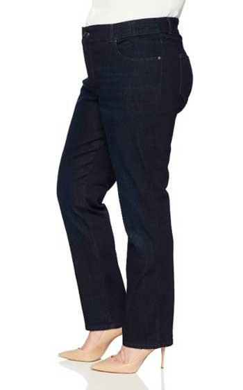 jeans for bigger waist skinny legs