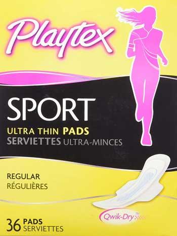 playtex panty liners