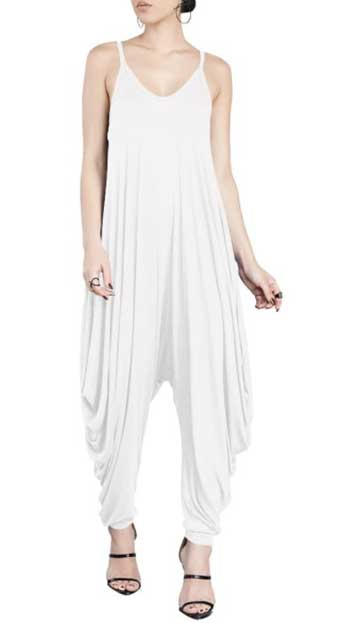 white jumpsuit for women
