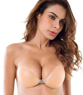 silicone adhesive bra