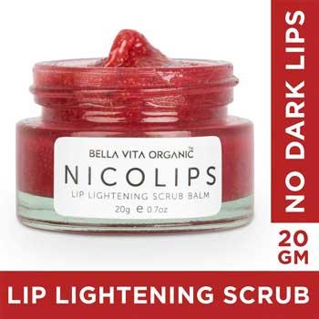 Bella Vita Organic NicoLips Lip Balm Scrub