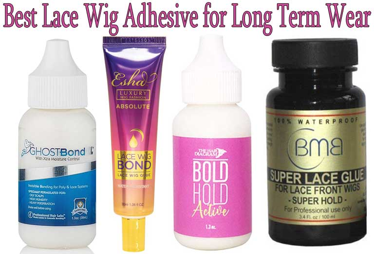 Best Lace Wig Adhesive for Long Term Wear