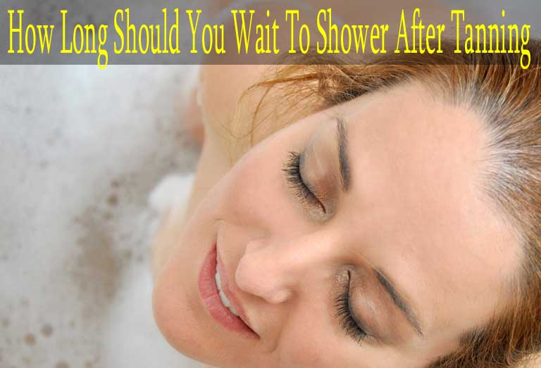 How Long Should You Wait To Shower After Tanning