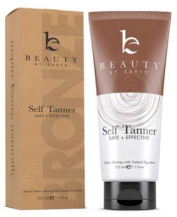 Beauty Self Tanner With Organic Aloe Vera & Shea Butter