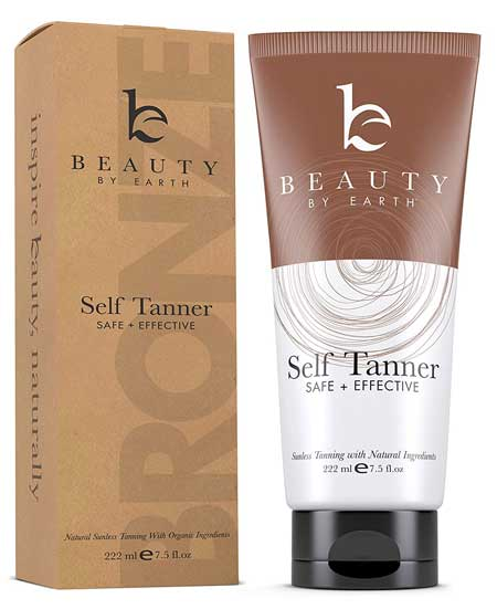 Beauty Self Tanner With Organic Ingredients
