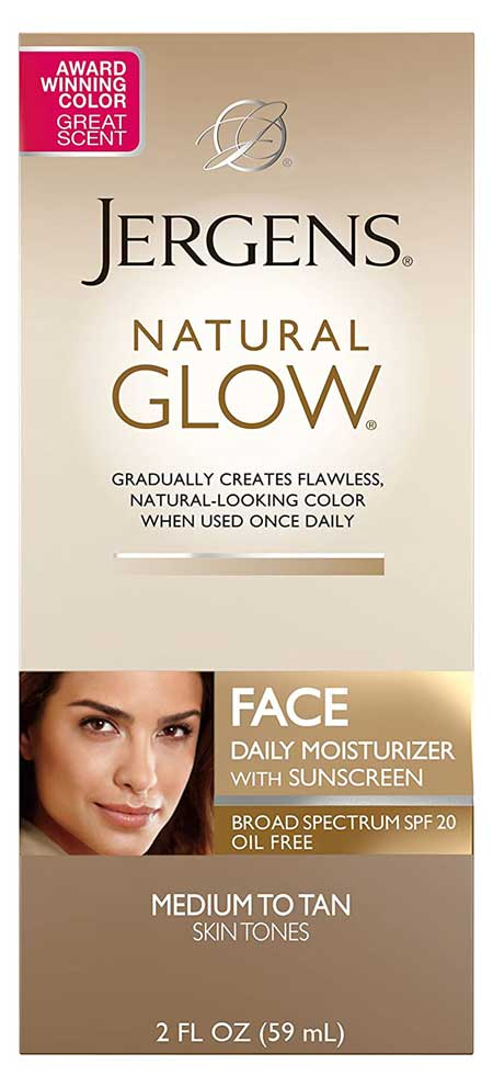 Jergens Natural Glow SPF 20 Moisturizer and Self Tanner
