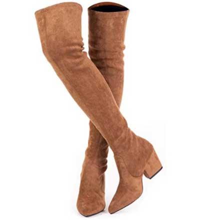 Mtzyoa Thigh High Women Over The Knee Boots