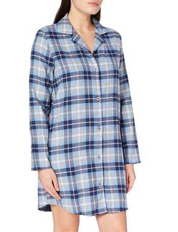 Iris & Lilly Women's Sexy Flannel Nightgown