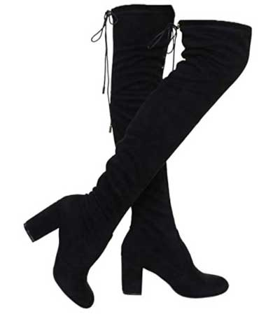 ShoBeautiful Women's Thigh High Boots Stretchy Over The Knee