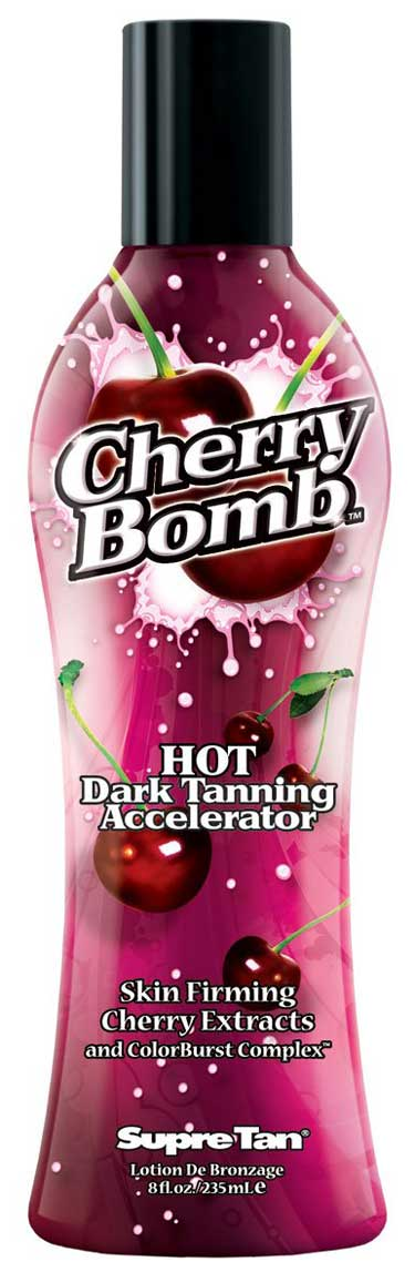 Supre Cherry Bomb Red Hot Tanning Lotion