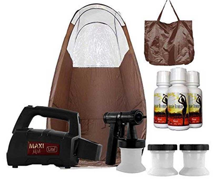 MaxiMist Lite Plus HVLP Sunless Spray Tanning KIT