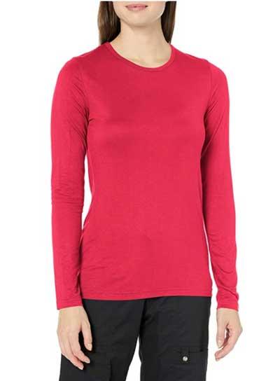 Wonderwink Women's Scrubs Silky Long-sleeve T-shirt
