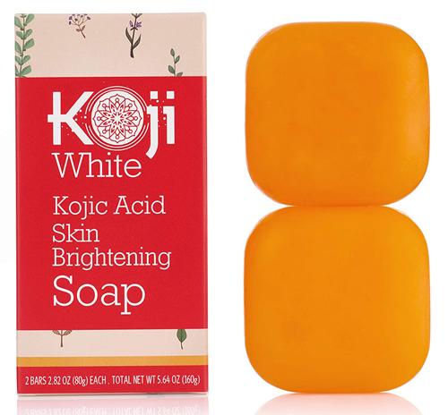 Pure Kojic Acid Skin Brightening Soap for Glowing